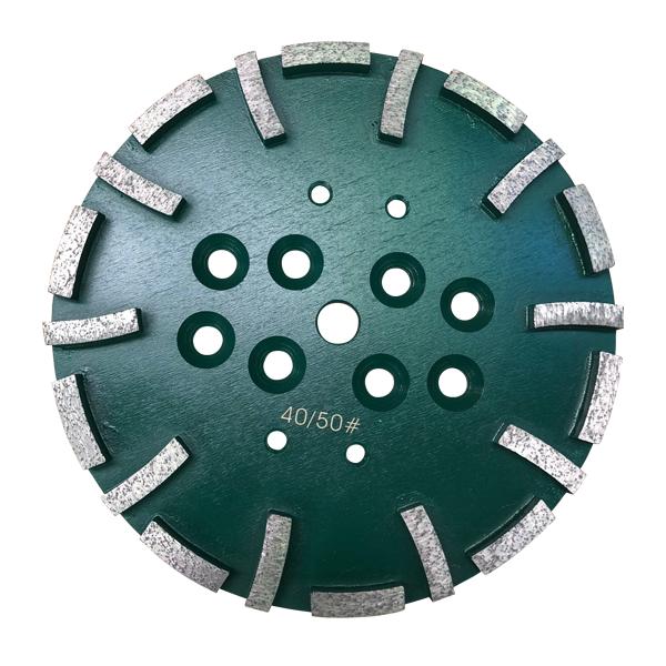 DP 18700400 250mm Segmented Grinding Head 1 - 250mm Segmented Grinding Head