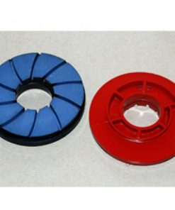 100mm Snail Lock Polishing Pads 50# - 3000#