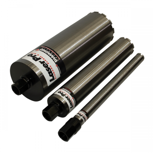 Core Bits RC70 for Wet Drilling of Reinforced Concrete 42mm - 117mm