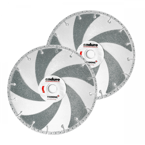 Enduro White Rescue Blade for Steel Cutting 115mm - 230mm