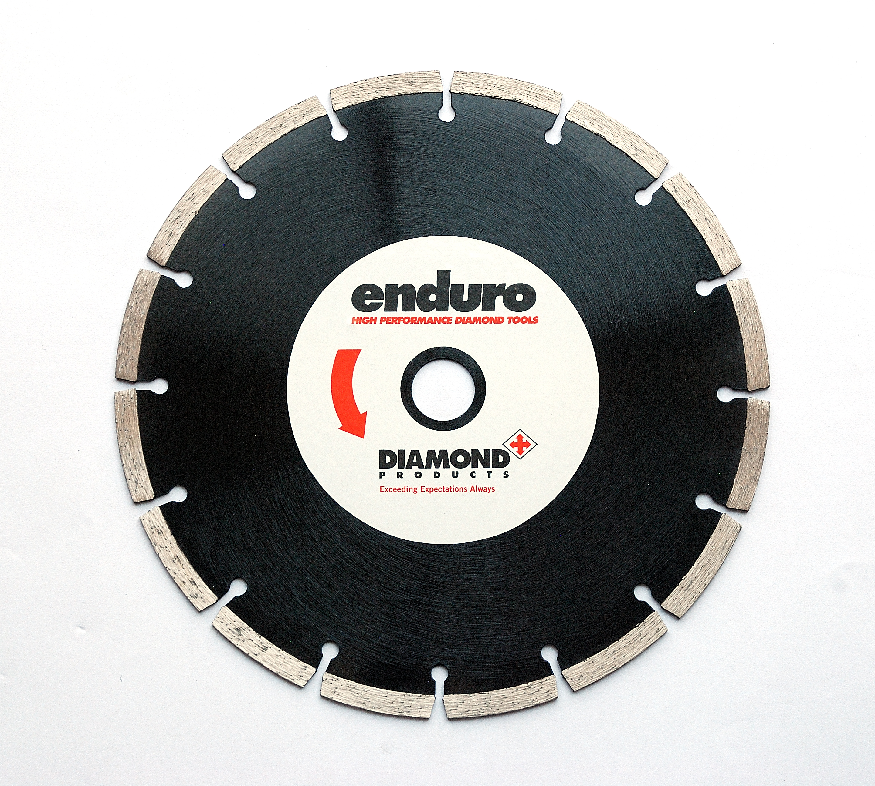 Angle grinder blades archives diamond products enduro black segmented blade for concrete and masonry 115mm 230mm dailygadgetfo Images