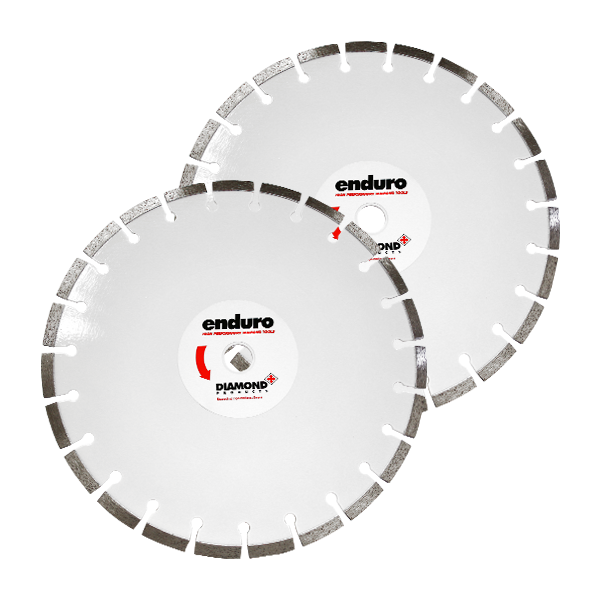 Enduro White RC25 Blade for Reinforced Concrete 1 - Floor Saw Blades for Concrete