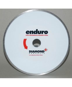 Enduro White Continuous Rim Blade for Ceramic 115mm - 230mm