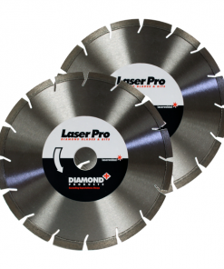 LaserPro GC77 3WS Blade for Green Concrete and Asphalt 300mm - 350mm