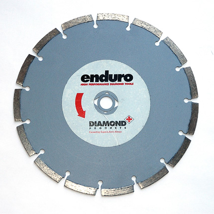 """230mm Enduro Grey Segmented Blade <div class=""""featuredproductshome"""" style=""""font-size:18px""""><strong>R67.50</strong></div>"""