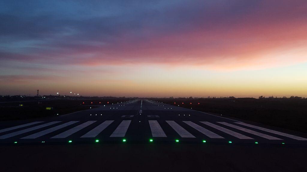 Upgrading Runway Ground Lighting