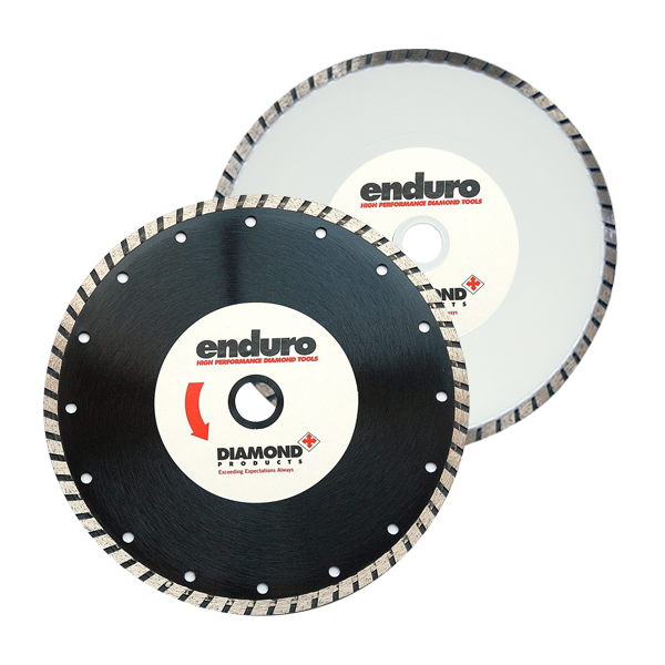 AngleGrinderBlades Turbo Blades For Concrete Natural Stone And Tiles 1 - Grinder Blades, Turbo - Concrete, Natural Stone, and Tiles