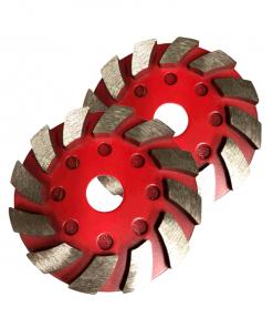 100mm Metal Velcro Grinding Pad