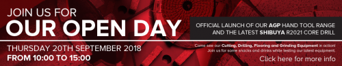 Diamond Products Open Day Banner 500x97 - Diamond Products News